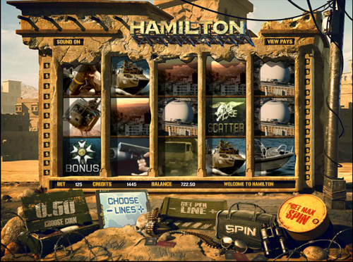 hamilton online slot im mr green casino