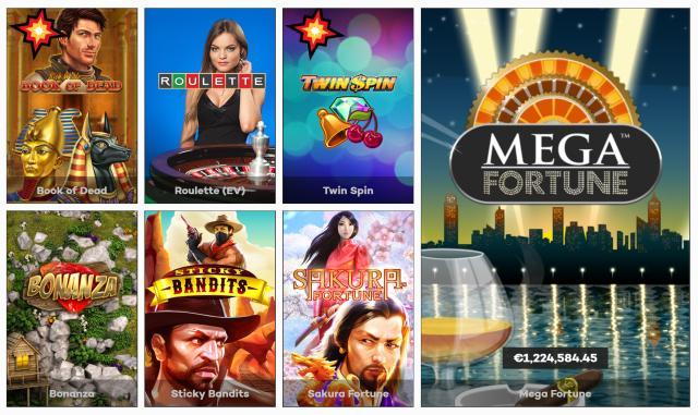Die besten Spiele bei High Roller Casino