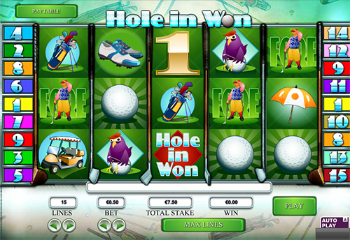 hole in won online slot im 888 casino