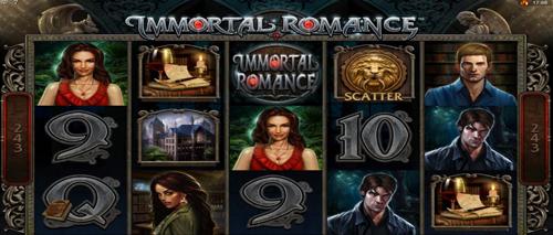 immortal romance online slot im spinpalace casino