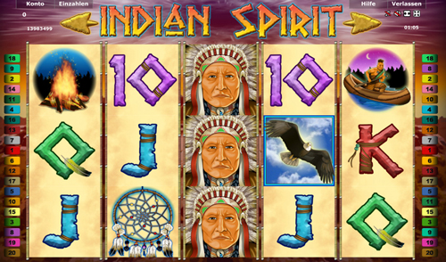 free online casino slots indian spirit