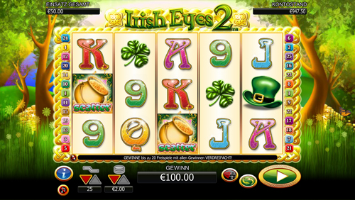 Irish Eyes 2 slot - Casumo Casino