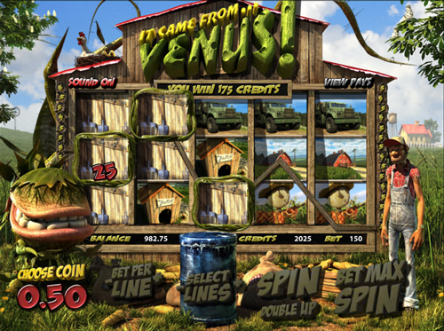 it came from venus online slot im mr green casino
