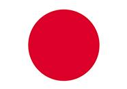 Flagge Japan