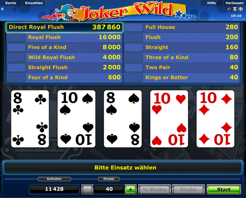 stargames online casino poker 4 of a kind