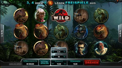 jurassic-park online slot