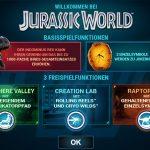 jurassic world bonus