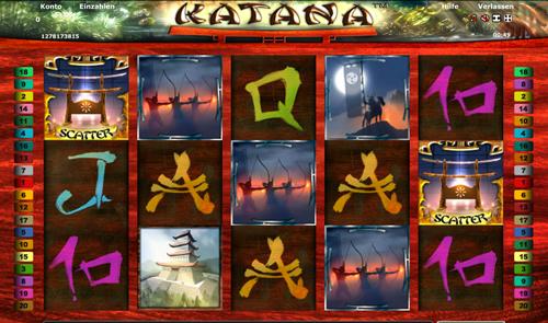 Der Slot Katana –spielen Sie Online-Slots kostenlos
