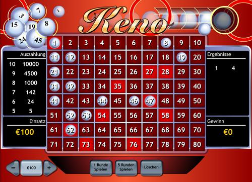 keno im winner casino spielen