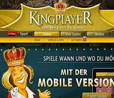 kingplayer casino test