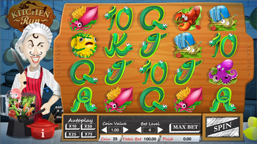 kitchen-run online slot