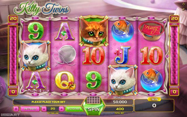 Kitty Twins Spielautomat Vorschau