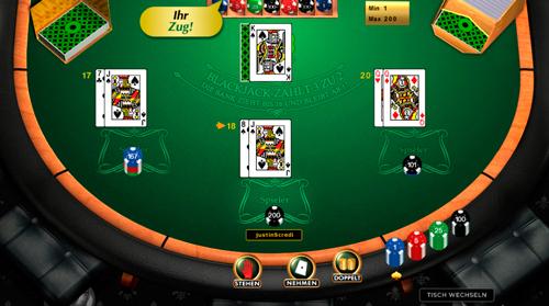 klassisches-blackjack casino spiel