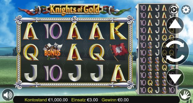 Knights of Gold Slot Vorschau