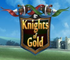 Knights of Gold Slot Logo