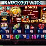 knockout wins gewinne