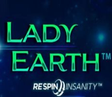 Lady Earth Slot Logo