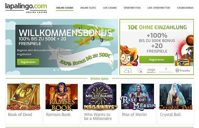 Online Casino Lapalingo Erfahrungen