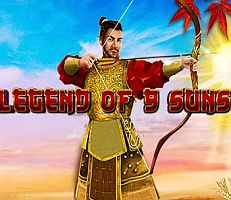 Legend of the 9 Suns Slot Logo