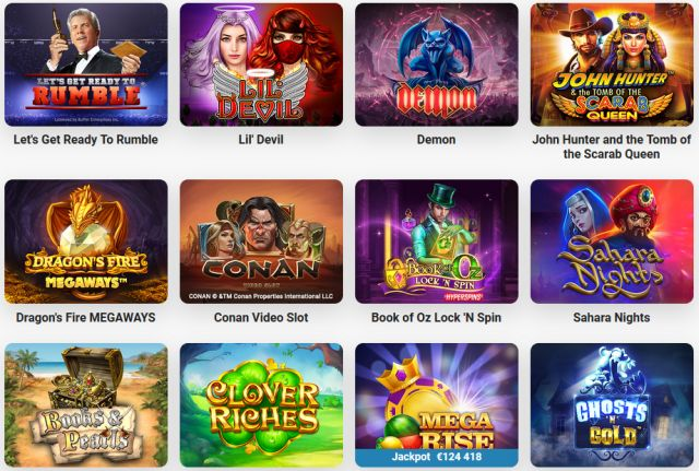 Leo Vegas neue Spiele