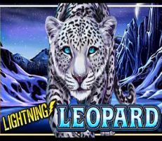 Lightning Leopard Slot Logo