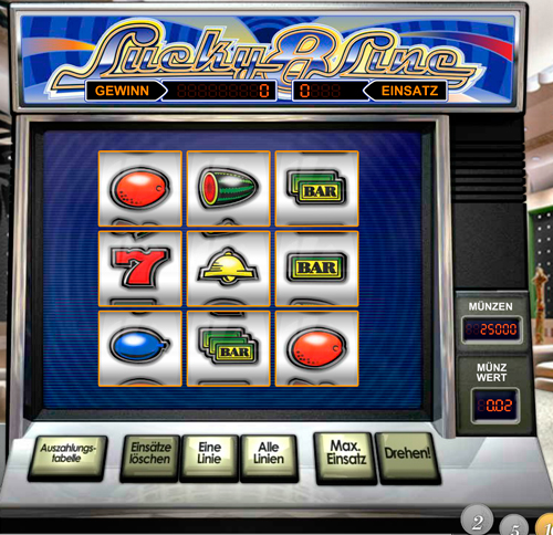 online casino lines spiel