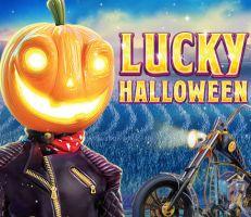Lucky Halloween Slot Logo