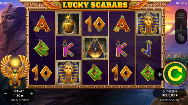 Lucky Scarabs Vorschau