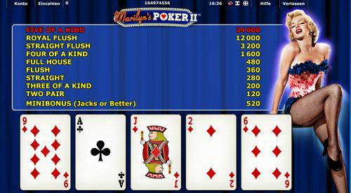 novoline spiel marilyns poker ii im gametwist casino