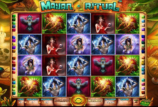 Mayan Ritual Slot Vorschau