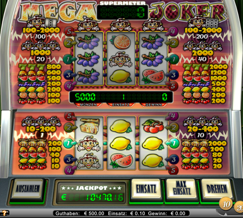 online casino test mega joker