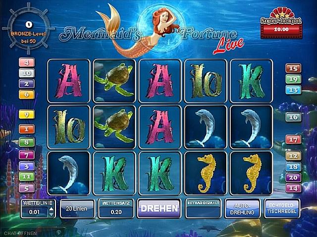mermaids millions spielen