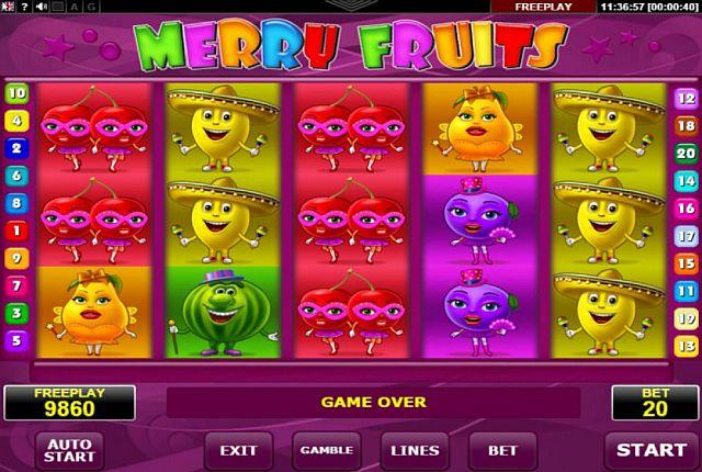 Merry Fruit Spielautomat