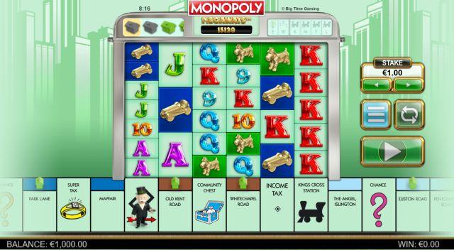 Monopoly Megaways Vorschau