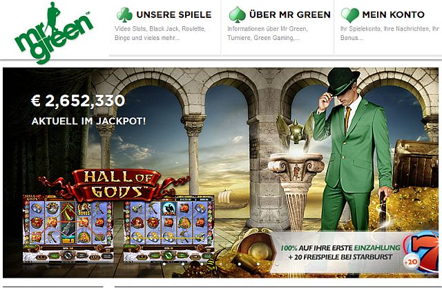 Betsoft Casino Mr. Green