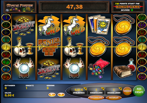 online casino merkur fortune online