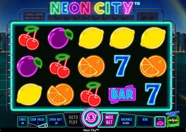 Neon City Wazdan