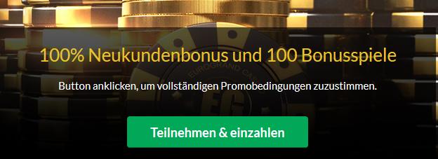 Neteller Eurogrand Casino Bonus