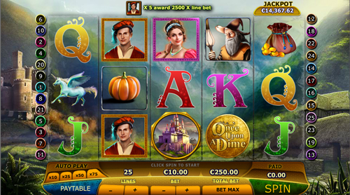 once-upon-a-dime online slot
