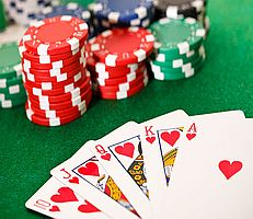 Casino mit Poker Night in America Raum