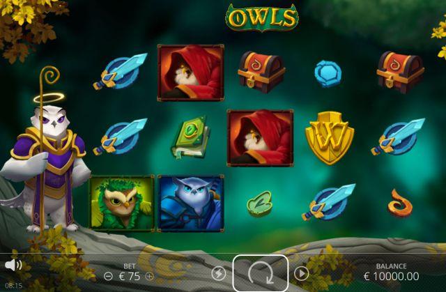 Owls Slot Vorschau