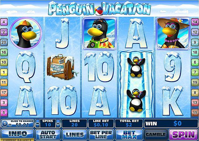 Spielen sie Penguin Vacation Automatenspiele Online bei Casino.com Österreich