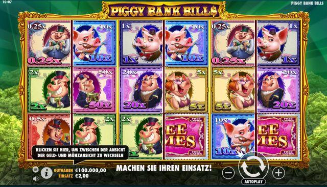 Piggy Bank Bills Vorschau