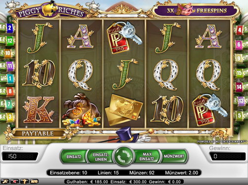 piggy riches online slot im netbet casino