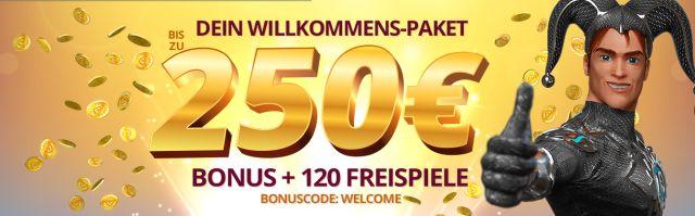 Platin Casino Bonus sichern