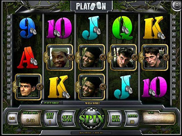 Platoon Online Slot