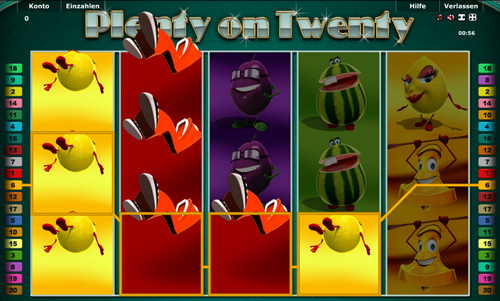 plenty on twenty slot im gametwist casino