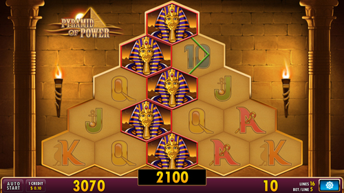 pyramid of power casino