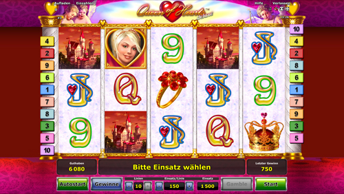 de online casino queen of hearts online spielen