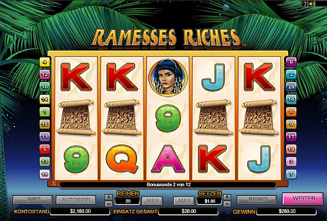 Ramesses Riches spielen